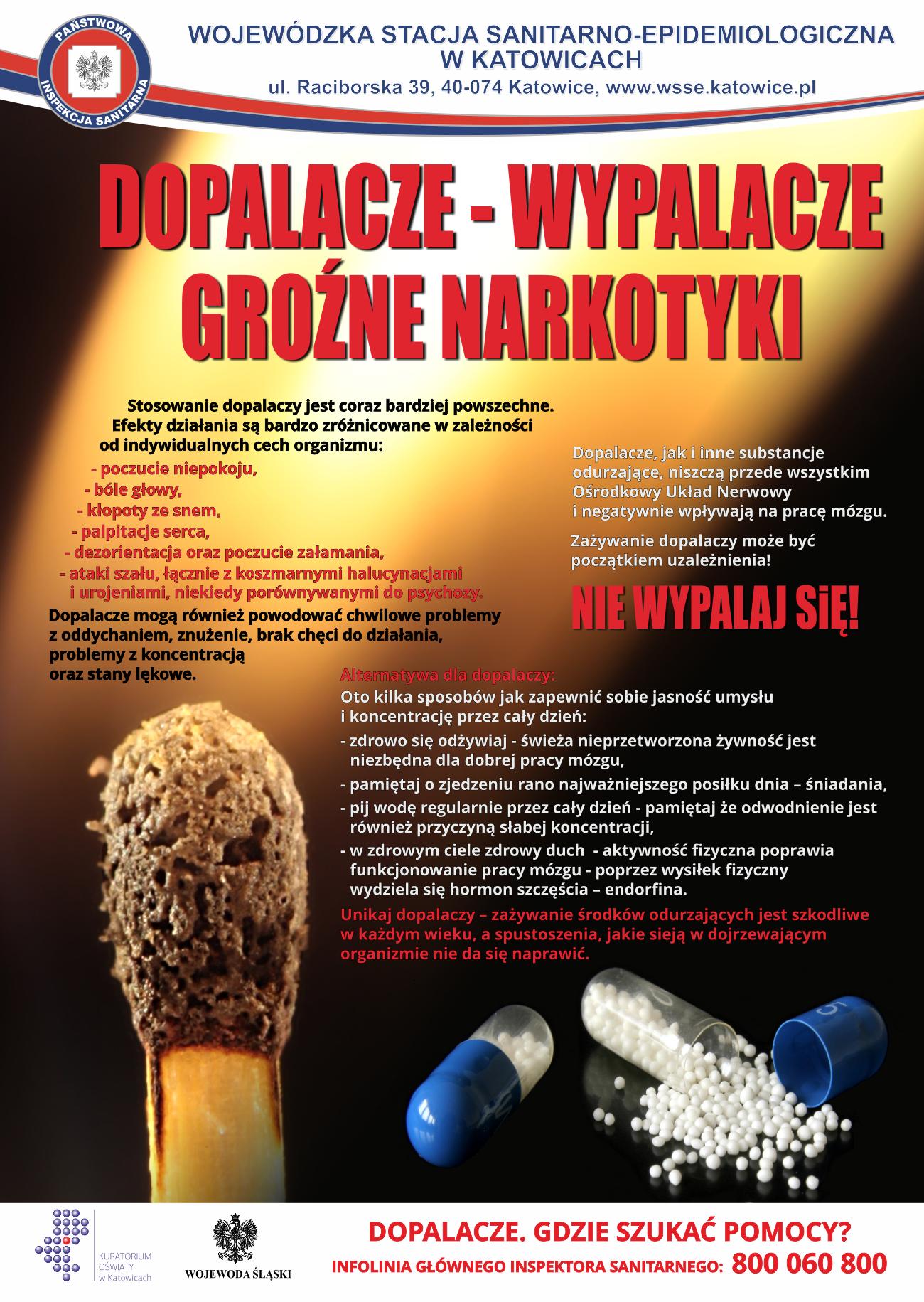 Plakat-dopalacze