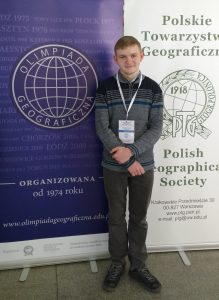 Uczeń Katolika finalistą Ogólnopolskiej Olimpiady Geograficznej!